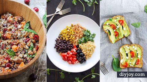 50 Healthy Lunch Ideas for Work | DIY Joy Projects and Crafts Ideas