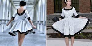 Watch How She Makes This Fabulous 50's Dress That Will Have Heads Turning!
