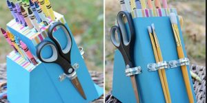 Watch This Completely Brilliant Trash-to-Treasure Craft With Old Knife Block!