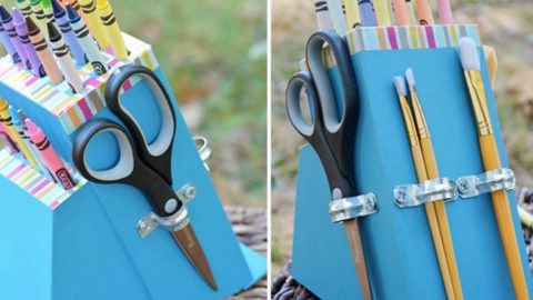 Watch This Completely Brilliant Trash-to-Treasure Craft With Old Knife Block! | DIY Joy Projects and Crafts Ideas