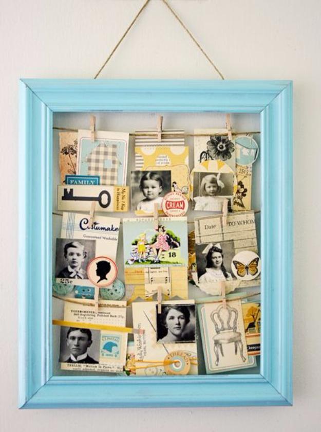 DIY Clothesline Frame With Spray Paint - DIY Joy