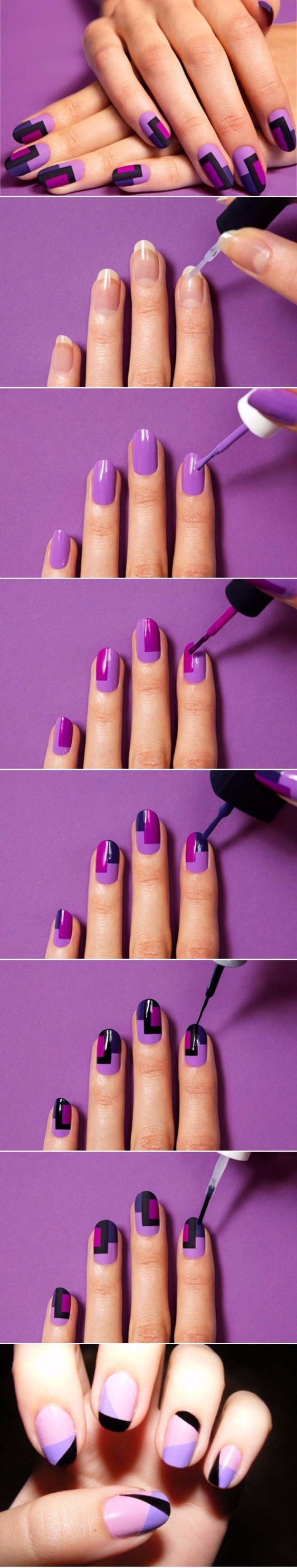 Quick Nail Art Ideas - DIY Colorful Fashion Nails - Easy Step by Step Nail Designs With Tutorials and Instructions - Simple Photos Show You How To Get A Perfect Manicure at Home - Cool Beauty Tips and Tricks for Women and Teens