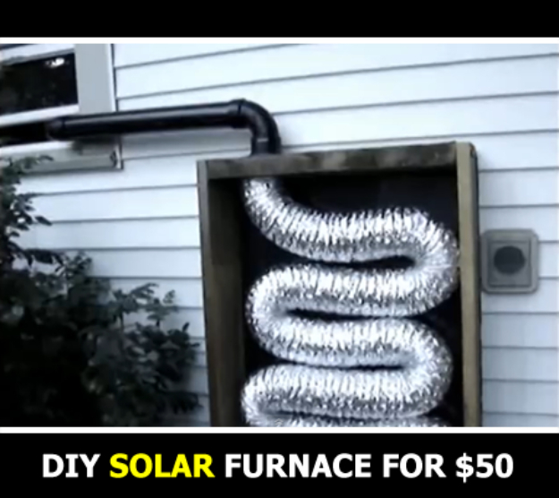 DIY Solar Powered Projects - DIY Solar Furnace - Easy Solar Crafts and DYI Ideas for Making Solar Power Things You Can Use To Save Energy - Step by Step Tutorials for Making Things Without Batteries - DIY Projects and Crafts for Men and Women