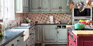 Tired Of Your White Cabinets And Love The French Country Look? Watch How She Does This!