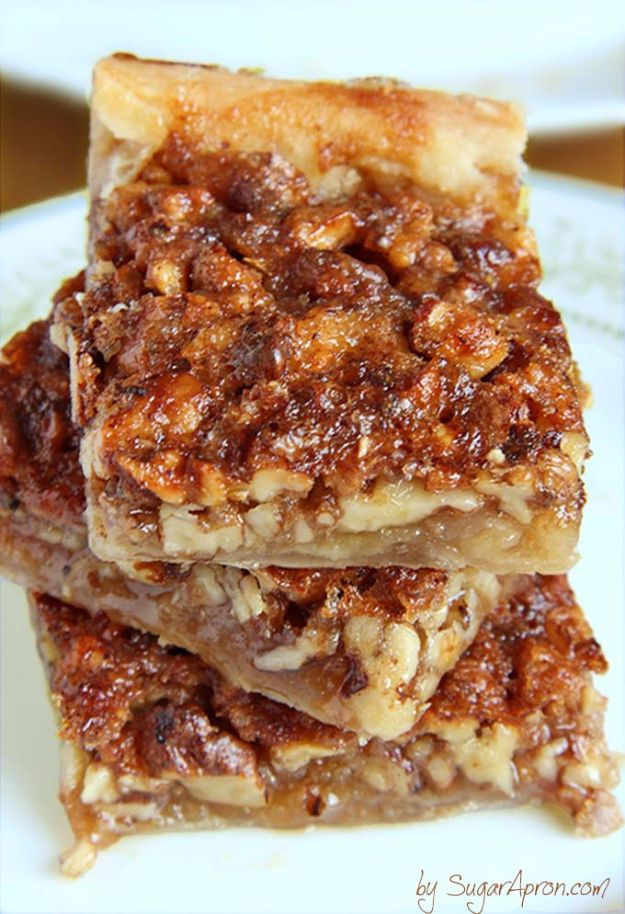 Best Crescent Roll Recipes - Easy Pecan Pie Bars - Easy Homemade ...