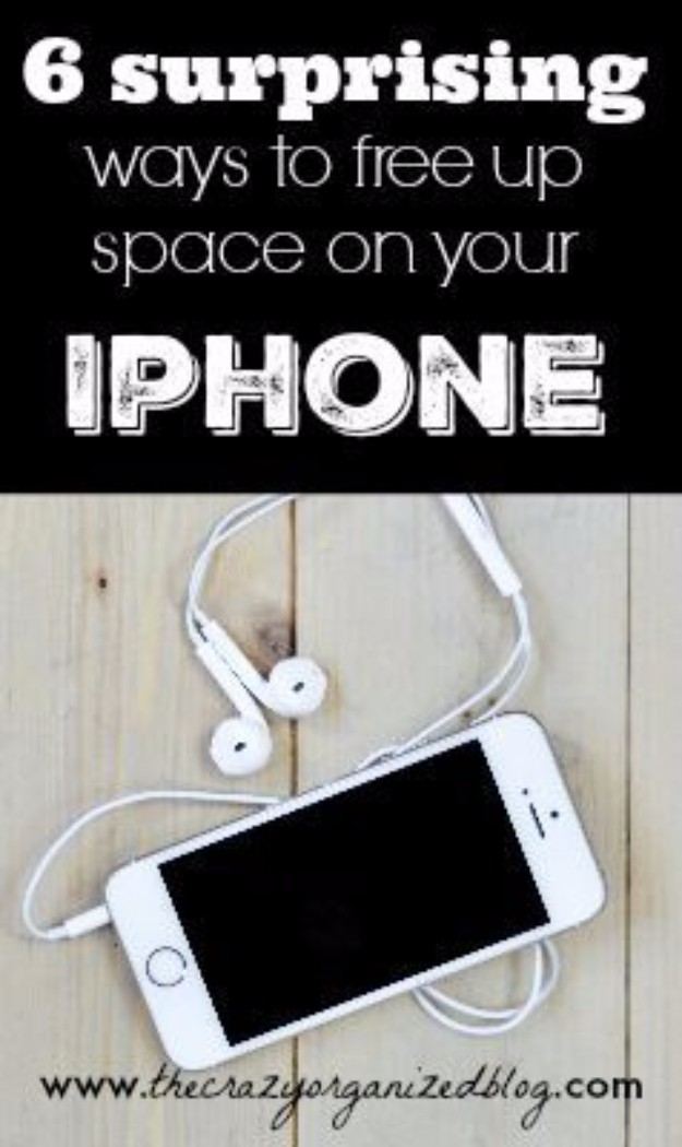 DIY Phone Hacks - Free Up Space In Your Iphone - Cool Tips and Tricks for Phones, Headphones and iPhone How To - Make Speakers, Change Settings, Know Secrets You Can Do With Your Phone By Learning This Cool Stuff - DIY Projects and Crafts for Men and Women http://diyjoy.com/diy-iphone-hacks