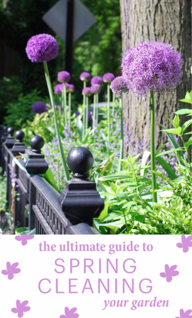 DIY Spring Gardening Projects - Guide To Spring Cleaning Your Garden - Cool and Easy Planting Tips for Spring Garden - Step by Step Tutorials for Growing Seeds, Plants, Vegetables and Flowers in You Yard - DIY Project Ideas for Women and Men - Creative and Quick Backyard Ideas For Summer