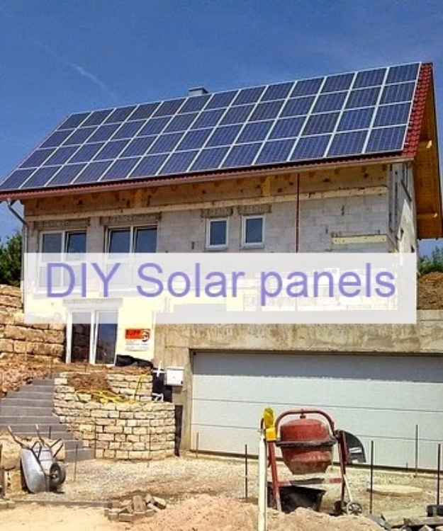 DIY Solar Powered Projects - Homemade Solar Panels DIY - Easy Solar Crafts and DYI Ideas for Making Solar Power Things You Can Use To Save Energy - Step by Step Tutorials for Making Things Without Batteries - DIY Projects and Crafts for Men and Women