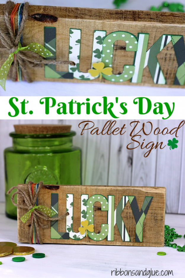 34 Easy DIY St. Patrick's Day Ideas