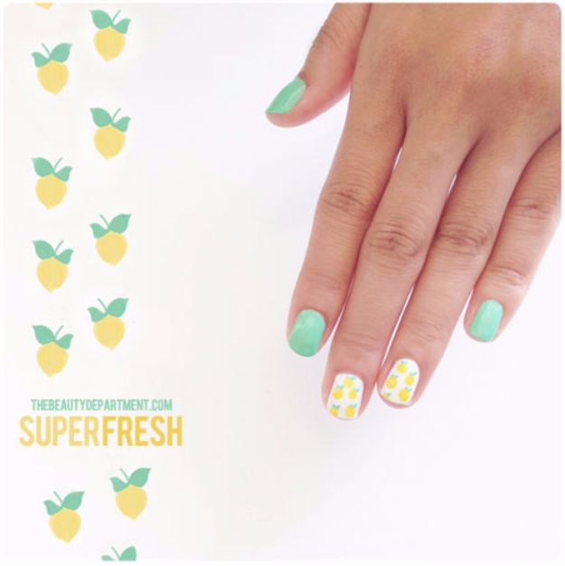 Quick Nail Art Ideas - Mani Monday - Easy Step by Step Nail Designs With Tutorials and Instructions - Simple Photos Show You How To Get A Perfect Manicure at Home - Cool Beauty Tips and Tricks for Women and Teens