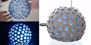 Watch How He Makes This Awesome Mood Lamp!