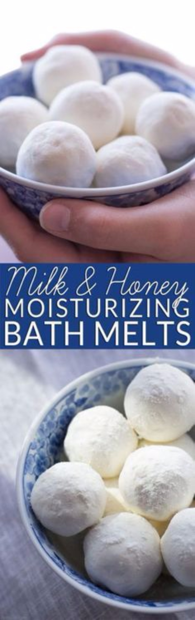 DIY Beauty Ideas and Recipes for Products You Can Make At Home - Milk And Honey Moisturizing Bath Melts - Easy Tutorials and Recipe Ideas for Face, Skin, Hair, Makeup, Lips - 3 Ingredient, Coconut Oil, Cheap Knock Offs, Baking Soda and Natural Product - Cool Homemade Gifts for Teens and Women