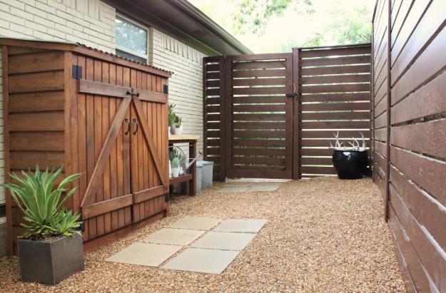 DIY Fences and Gates - Modern Fence DIY - How To Make Easy Fence and Gate Project for Backyard and Home - Step by Step Tutorial and Ideas for Painting, Updating and Making Fences and DIY Gate - Cool Outdoors and Yard Projects