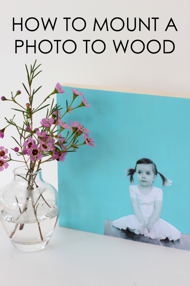 DIY Photo Crafts and Projects for Pictures - Modern Photo Wall Art - Handmade Picture Frame Ideas and Step by Step Tutorials for Making Cool DIY Gifts and Home Decor - Cheap and Easy Photo Frames, Creative Ways to Frame and Mount Photos on Canvas and Display Them In Your House