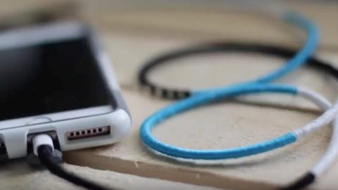 He Shows Us A Simple But Brilliant Idea For Preserving Your Phone Charger! | DIY Joy Projects and Crafts Ideas