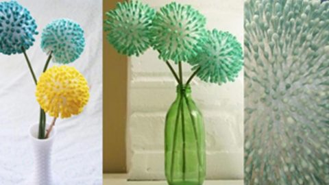 Bet You Can't Guess What These Stunning Flowers Are Made From… | DIY Joy Projects and Crafts Ideas