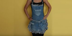 Look At The 8 Brilliant Things She Makes Out Of Recycled Jeans!