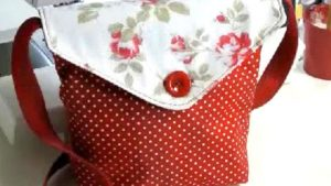 Sewing Tutorial: Reversible Carry All Messenger Bag