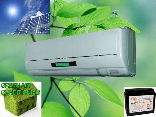 DIY Solar Powered Projects - Solar Powered Air Conditioning Unit - Easy Solar Crafts and DYI Ideas for Making Solar Power Things You Can Use To Save Energy - Step by Step Tutorials for Making Things Without Batteries - DIY Projects and Crafts for Men and Women