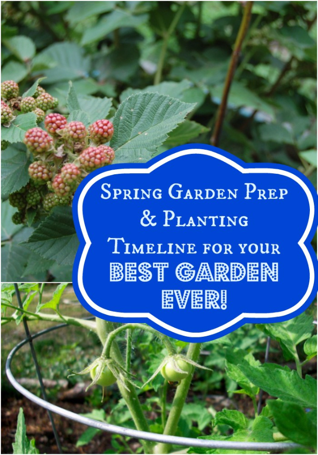 DIY Spring Gardening Projects - Spring Garden Prep - Cool and Easy Planting Tips for Spring Garden - Step by Step Tutorials for Growing Seeds, Plants, Vegetables and Flowers in You Yard - DIY Project Ideas for Women and Men - Creative and Quick Backyard Ideas For Summer