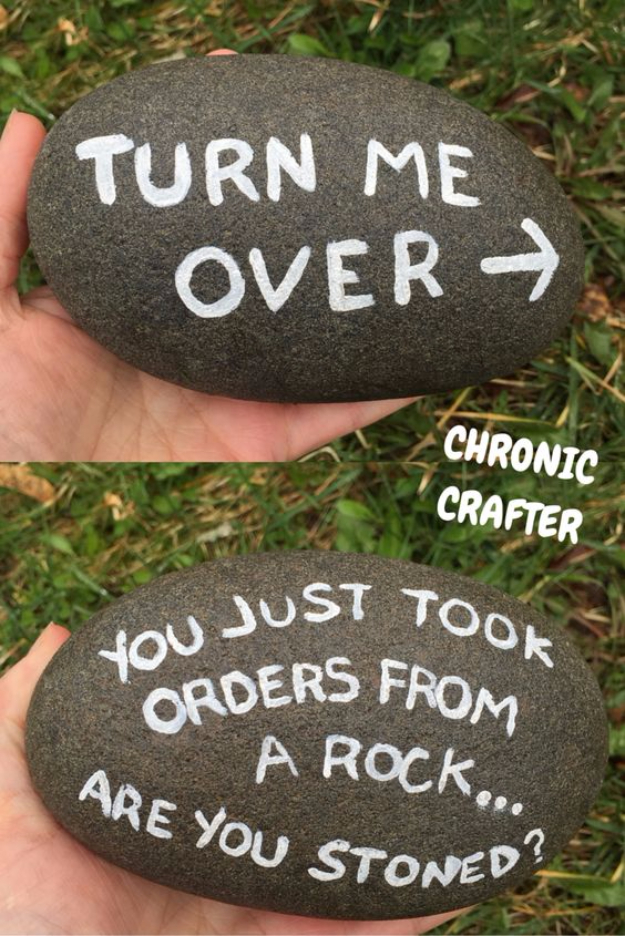 Pebble and Stone Crafts - Stoned And Painting Rocks - DIY Ideas Using Rocks, Stones and Pebble Art - Mosaics, Craft Projects, Home Decor, Furniture and DIY Gifts You Can Make On A Budget #crafts