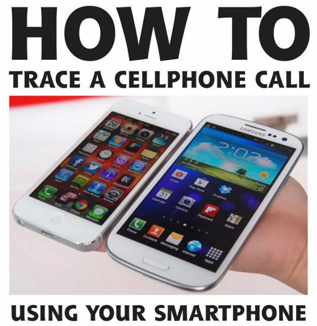 DIY Phone Hacks - Trace A Cellphone Call Using Your Smartphone - Cool Tips and Tricks for Phones, Headphones and iPhone How To - Make Speakers, Change Settings, Know Secrets You Can Do With Your Phone By Learning This Cool Stuff - DIY Projects and Crafts for Men and Women http://diyjoy.com/diy-iphone-hacks