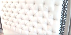 Watch How He Makes This Gorgeous Tufted Headboard That's The Big Rage Now!