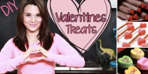 She Makes Some Really Yummy Valentine's Day Treats That Everybody Will Love!