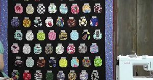 Learn How to Make A Mason Jar Quilt
