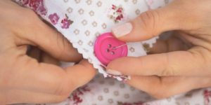 The Absolute Best Way Ever To Sew A Button On Is…