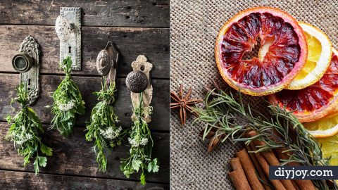 30 DIY Ideas With Dried Herbs | DIY Joy Projects and Crafts Ideas