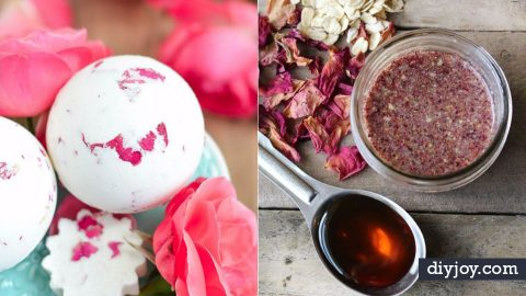 31 DIY Ideas With Rose Petals | DIY Joy Projects and Crafts Ideas