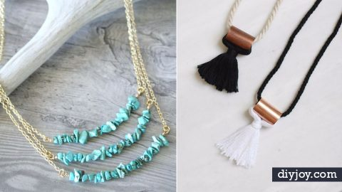 31 DIY Necklaces To Make Today | DIY Joy Projects and Crafts Ideas