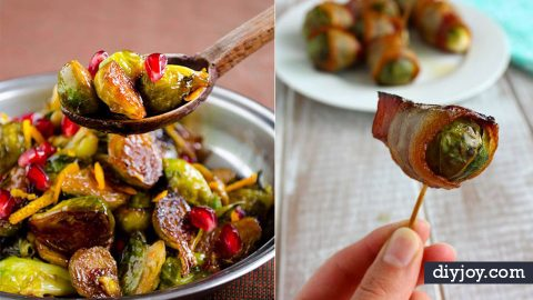 32 Homemade Brussel Sprouts Recipes | DIY Joy Projects and Crafts Ideas