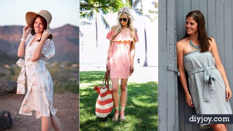 32 Creatively Cool Dresses to Sew for Summer | DIY Joy Projects and Crafts Ideas