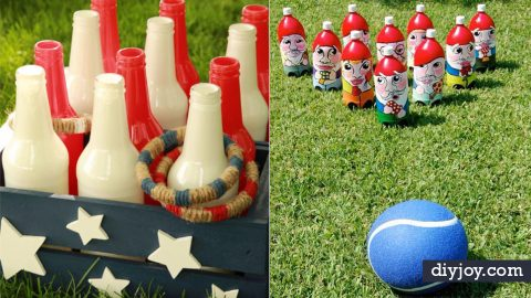 32 DIY Backyard Games That Will Make Summer Even More Awesome! | DIY Joy Projects and Crafts Ideas