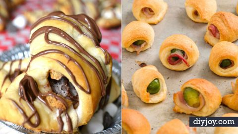 33 Recipes to Make With Crescent Rolls | DIY Joy Projects and Crafts Ideas