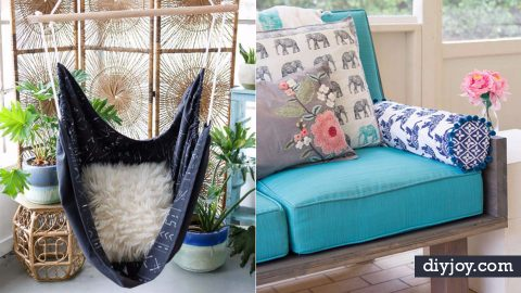 33 Creative Sewing Projects for Your Patio | DIY Joy Projects and Crafts Ideas