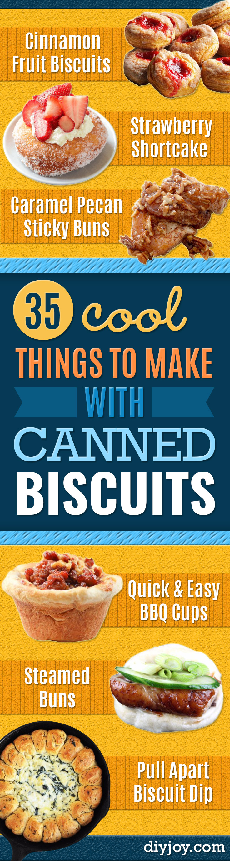 35 Recipes Made With Canned Biscuits
