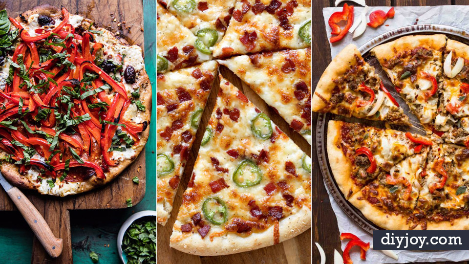 best pizza recipes homemade pizza recipe ideas for healthy easy