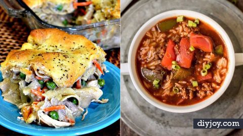 37 Healthy Crockpot Recipes To Make and Freeze Ahead of Time | DIY Joy Projects and Crafts Ideas