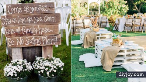 41 DIY Ideas for An Outdoor Wedding | DIY Joy Projects and Crafts Ideas