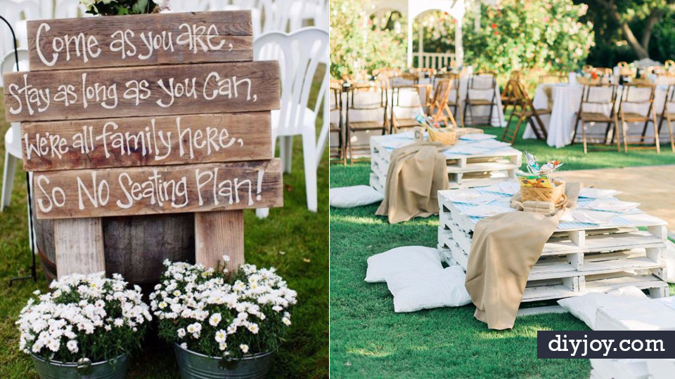 DIY Outdoor Wedding Decor Ideas - 9 Decorations For Weddings