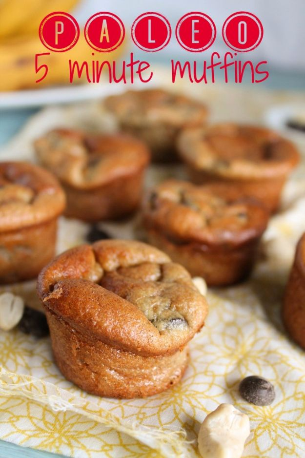 Easy Snacks You Can Make In Minutes - 5-Minute Muffins - Quick Recipes and Tricks for Making After Workout and After School Snack - Fast Ideas for Instant Small Meals and Treats - No Bake, Microwave and Simple Prep Makes Snacking Fun #snacks #recipes