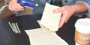 She Folds Some Pages Out Of A Book And Creates Something Fascinating (Watch!)