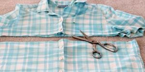 What She Makes Out Of Her Husband's Old Shirt Is Really Brilliant (Watch!)