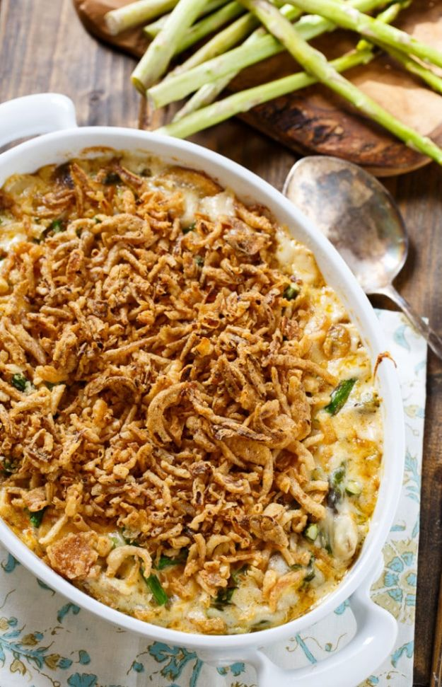 Best Easter Dinner Recipes - Asparagus Casserole - Easy Recipe Ideas for Easter Dinners and Holiday Meals for Families - Side Dishes, Slow Cooker Recipe Tutorials, Main Courses, Traditional Meat, Vegetable and Dessert Ideas - Desserts, Pies, Cakes, Ham and Beef, Lamb - DIY Projects and Crafts by DIY JOY http://diyjoy.com/easter-dinner-recipes