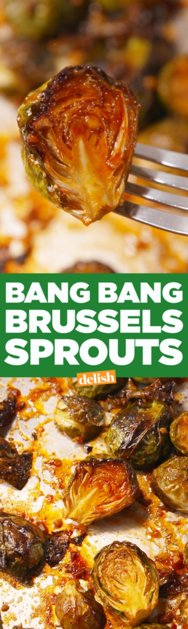 Best Brussel Sprout Recipes - Bang Bang Brussels Sprouts - Easy and Quick Delicious Ideas for Making Brussel Sprouts With Bacon, Roasted, Creamy, Healthy, Baked, Sauteed, Crockpot, Grilled, Shredded and Salad Recipe Ideas #recipes