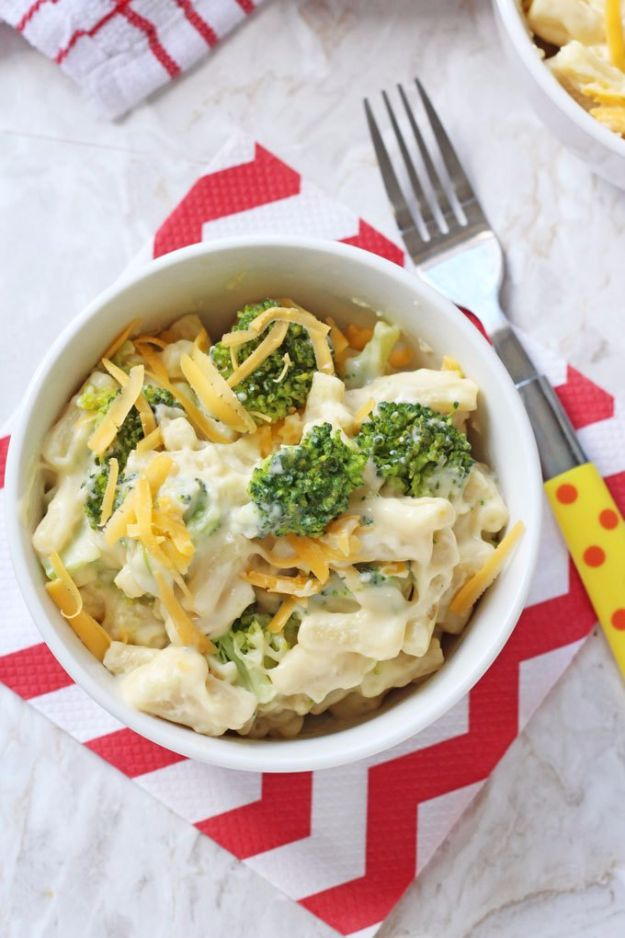 Best Broccoli Recipes - Broccoli Mac And Cheese - Recipe Ideas for Roasted, Steamed, Fresh or Frozen, Healthy, Cheesy, Soup, Salad, Casseroles and Side Dish Vegetables Made With Broccoli. Shrimp, Chicken, Pasta and Paleo Recipes. Easy Dinner, healthy vegetable recipes
