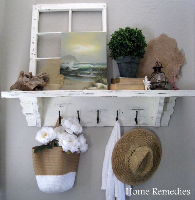 DIY Home Improvement On A Budget - Budget Friendly Entryway Reveal - Easy and Cheap Do It Yourself Tutorials for Updating and Renovating Your House - Home Decor Tips and Tricks, Remodeling and Decorating Hacks - DIY Projects and Crafts by DIY JOY #diy